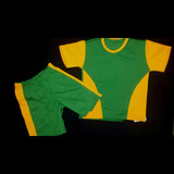 Conjuntos De Niños Sport Deportivo Short Y Franela Tallas 6