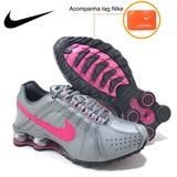 Nike Shox Junior 4 Molas Feminino Original Frete Grátis