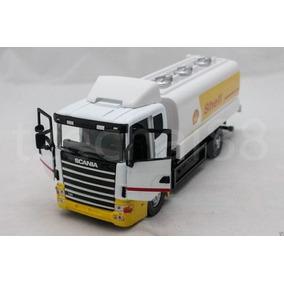 Miniatura Caminhão Scania 124 P420 Shell Combustível Esc1:43