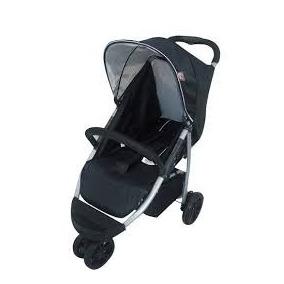 Carrinho De Bebê 3 Rodas Still Preto