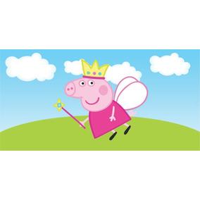 Molduras de Fotos Gratis Peppa Pig Princesa Fada