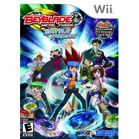 Beyblade: Metal Fusion - Batalha De Fortaleza - Nintendo Wii