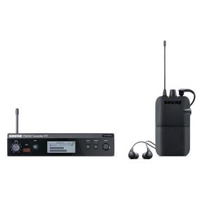 Sistema De Monitoreo Personal Estéreo Inalámbrico Shure...