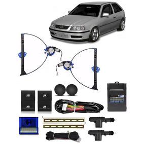 Kit Vidro Eletrico Gol G3 2 Portas Modulo Inteligente Trava