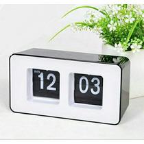 Reloj Retro Autoflip Hermoso Diseño