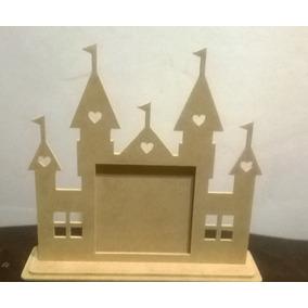 Castillo De Princesas Y Marco Para Fotos De 15cm X 15cm