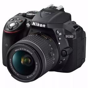 Câmera Profissional Dslr Nikon D5300 Lente18-55mm Wifi