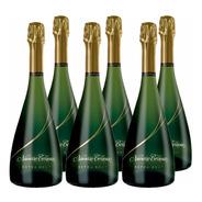 Champagne Navarro Correas Extra Brut 750 Caja Pack X6