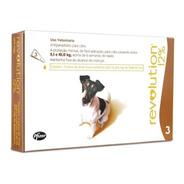Antipulgas Revolution 12% Cães 5-10kg - 1 Pipeta Full