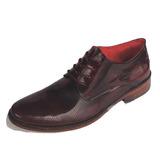 Zapato Formal Aquiles Hombre En Cuero 100% Suela Cuero