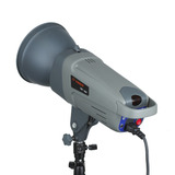 Flash Estudio Visico 300 W C/ Reflector Receptor Incorporado