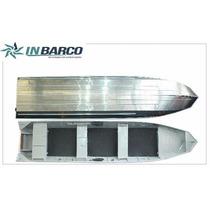 Barco Alumínio Inbarco Fx Charon 600 Semichata Rebitado Zero