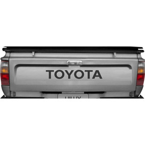 Adesivo Tampa Traseira Toyota Hilux Top