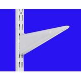 Mensula Metalica Reforzada 27cm Doble Enganche Para Riel