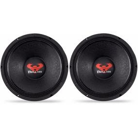 2 Auto Falantes 12 Polegadas 550w Rms Woofer Ultravox Utx550