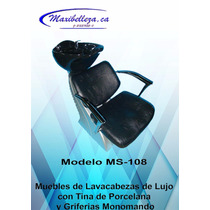 Sillas De Peluquería Y Muebles De Lavacabezas
