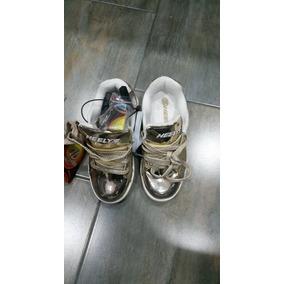 Zapatos De Ruedas De Niña Talla 4 (36,5) 100% Original