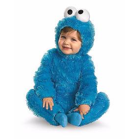 Disfraz Bebe Cookie Monster Traje Monstruo Come Galletas
