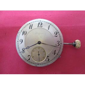Maquina De Reloj Bolsillo Antiguo Longines