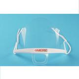 Tapaboca Acrilico Plastico Transp Cajax10-envio Gratis-omeps