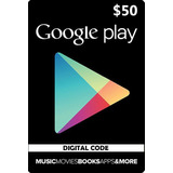 Usd 50 Google Play Gift Card Se Acepta Tarjeta Credito