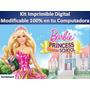 Kit Imprimible Para Tu Fiesta De Barbie Escuela De Princesas