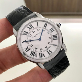e3c4e00ed98 Cartier Roadster S Large Full Steel Automatic Impecável. Usado · Cartier  Ronde Solo Large - 36mm 2018 Lacrado Impecável