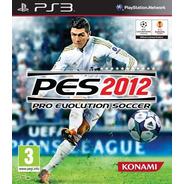 Pes 2012 Pro Evolution Soccer Ps3