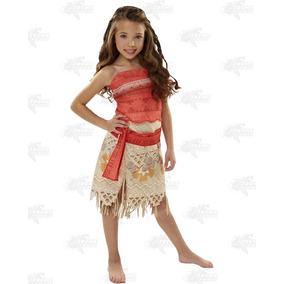 Disfraz Moana 100% Original Disney Adventure Outfit Xtreme P