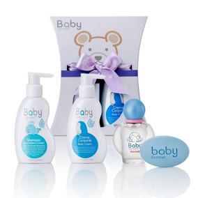 Estuche Baby Zermat Perfume, Crema, Shampo Y Jabón De Bebé
