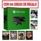 Xbox One Original Con 100 Juegos De Regalo Nuevas