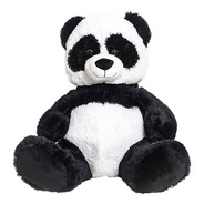 Peluche Oso Panda Sentado Grande Happydays Envio Gratis