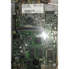 Routerboard Mikrotik 433 Ah + Placa Minipci R52 Hn
