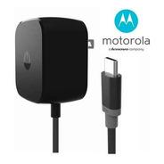 Cargador Turbo Power Motorola Original Con Cable Tipo C