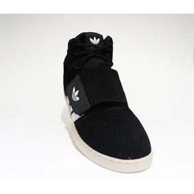Bota adidas Tubular Invader Preto E Branco