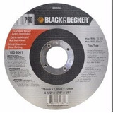 Disco De Corte De Metal Black & Decker 4-1/2 X 1/8 X 7/8