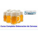 Cursos Manual Taller Elaboración De Cervezas Artesanales