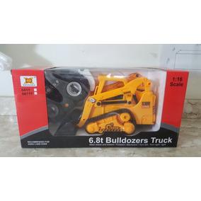 Retroescavadeira Trator Controle Remoto Bulldozers Truck