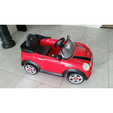 Carro A Motor Juguete Marca Mini Cooper !!!!!!