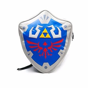 Mochila - Nintendo - Zelda Escudo Shield 3d