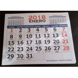 Taco Calendario Mensual 21x28 Cms