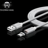 U.s. Stock 1m Usb Magnético 3.1 Tipo C Trenzada Carga Cable
