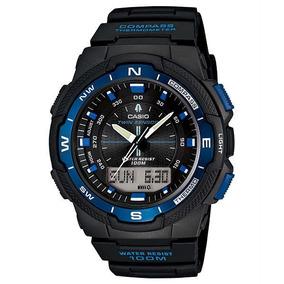 8076f0884a7 Relogio Casio Sgw-500h-2b Bússola Garantia 100% Sgw 500