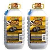 Silicona Líquida X-3 Perfumada Limón Carwash 5lts Pack 2un