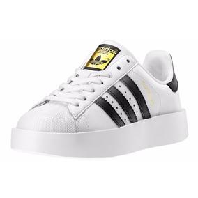 Zapatillas Adidas Superstar Con Plataforma