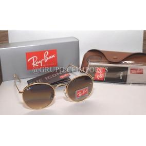 Ray Ban Round Metal Rose Outros Oculos - Óculos De Sol Sem lente ... 6b4ff0b3c99f