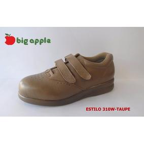 Zapato Calzado De Diabetico De Mujer Marca Big Apple Piel