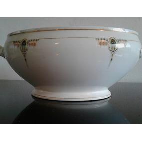 Sopera De Porcelana Checoslovaquia Art Deco