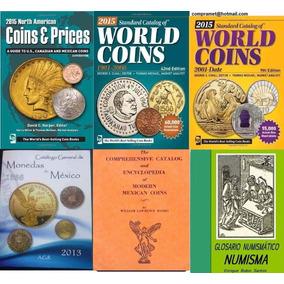 Mega Paquete De Libros De Monedas Y Billetes Numismatica