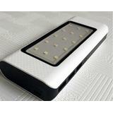 Eco Cargador Batería Solar 9000 Mah 3 Usb 15 Led Power Bank